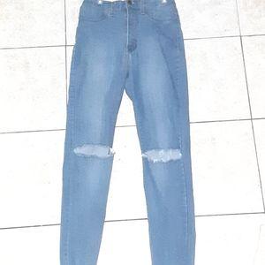 Aphrodite high waisted Jean's 🦋